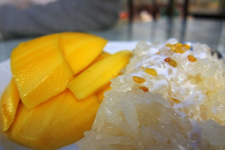 mango with rice thai