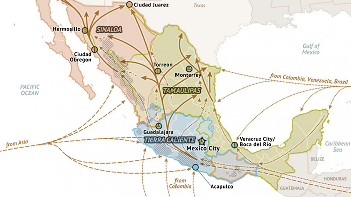 the-routes-of-the-drug-in-mexico