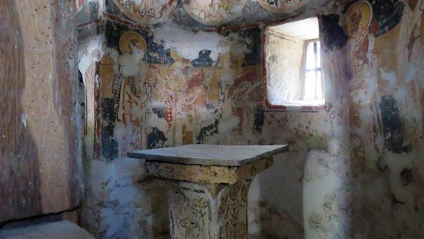 Cherkva Staro selo Milanovo - oltar