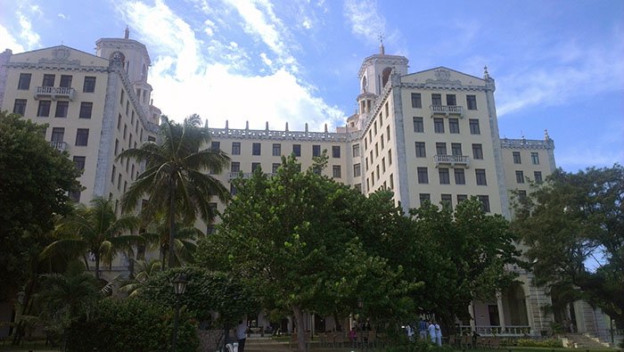 Hotel National Havana fasada