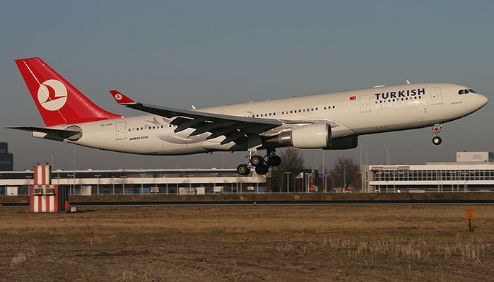 Turkish Airlins Airbus A330 - Istanbul-Singapore