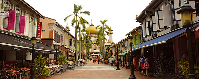 Singapore arab district