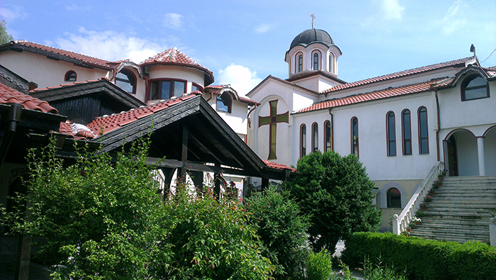 Manastir Sveti Mina_dvor