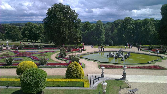 Waddesdon park view