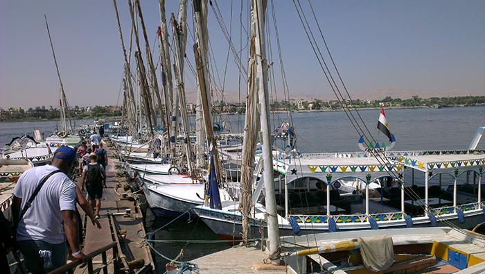Karnak boats