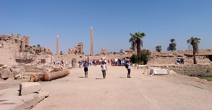 Karnak obelisks
