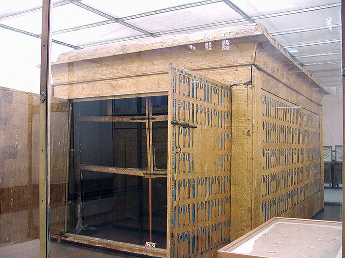 King Tut the third outermost shrine