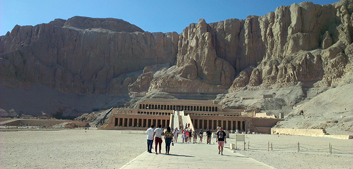 The tempel of Hatshepsut