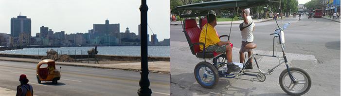 Havana sicle&tuk-tuk