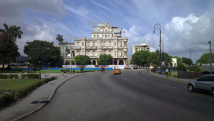 Havana Spanish embassy