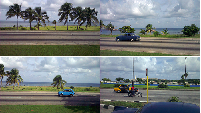 The road from Havana to Varadero