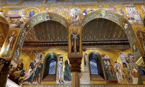 Cappella Palatina отвътре
