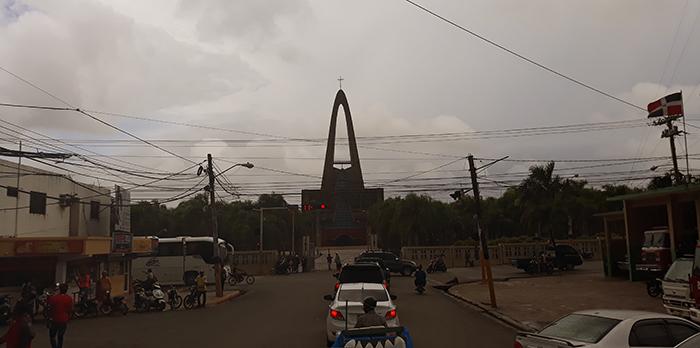 Basílica Catedral Nuestra Señora de la Altagracia от улицата