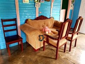 Всекидневната в традиционна доминикански плантационен дом
