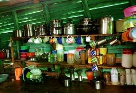 Съвременна доминиканска кухня в селска къща