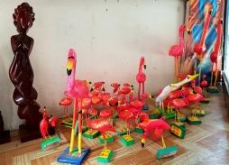 Фламингото е често срещан сувенир