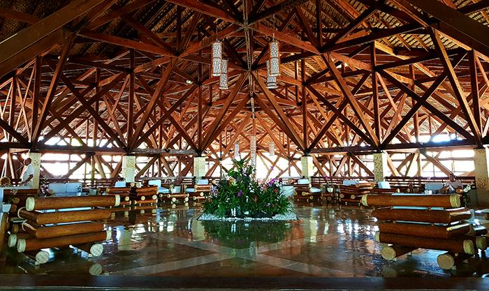 Natura park hotel lobby