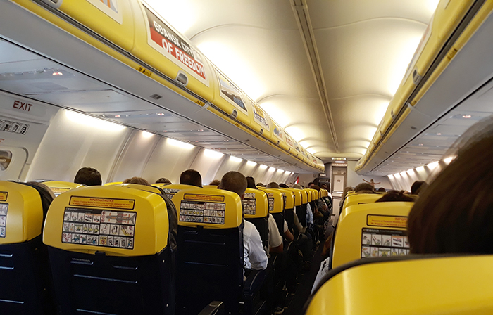 Top 5 flights Ryanair