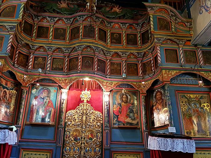 Oltar Uspenie Bogorodichno Kiustendil
