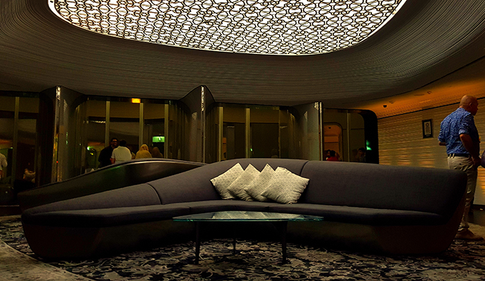 Burj Khalifa-lounge at the top
