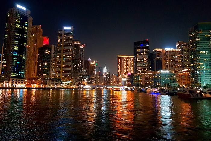 Dubai Marina boat trip
