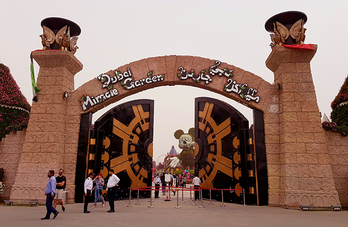 Dubai Miracle Garden_door
