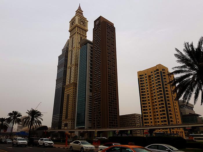 Dubai skyscrapers1