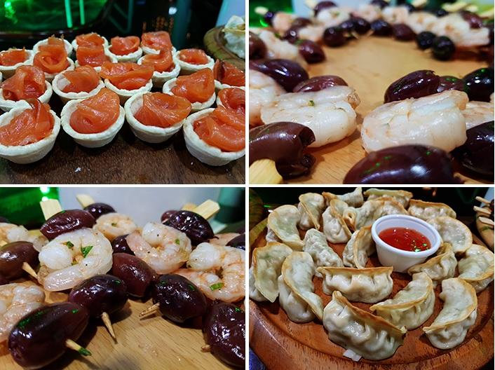 Lotus Mega Yacht foods