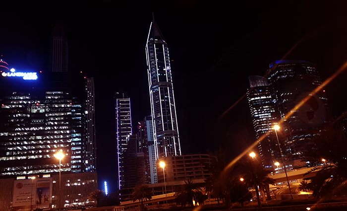 On the way to Dubai Marina