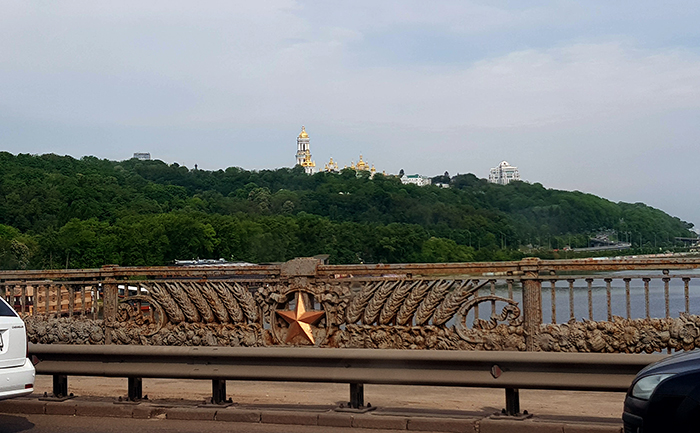Bridge in Kiev