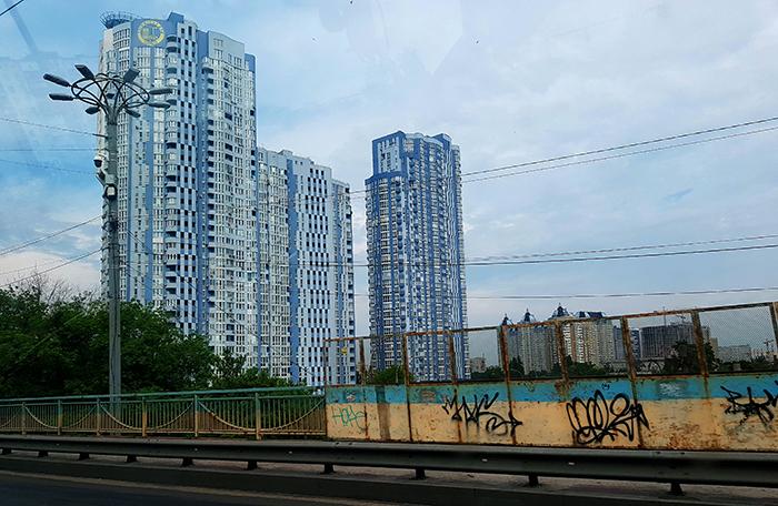 Living houses Kiev