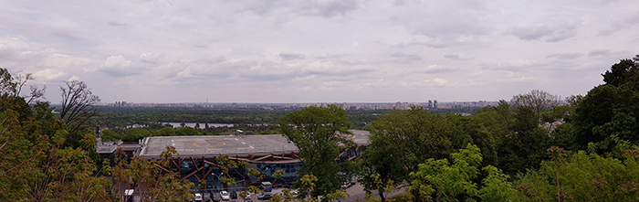 Panoramic view Kiev