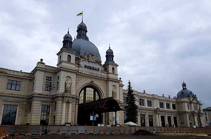 Railway station Lviv