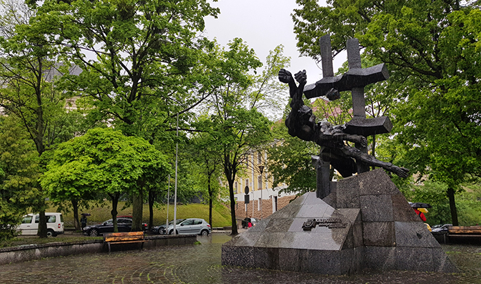 Statue of the comunism