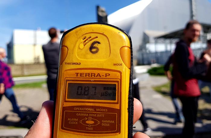 Chernobyl Power Plant radiation
