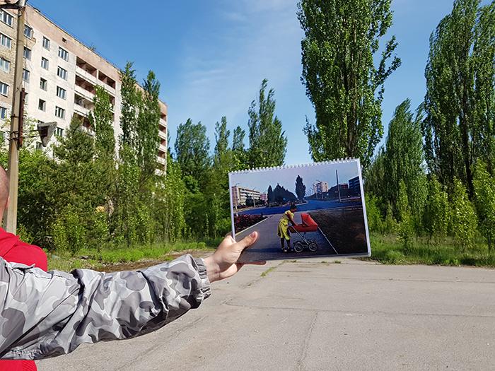 Bulevard Lenin Pripyat