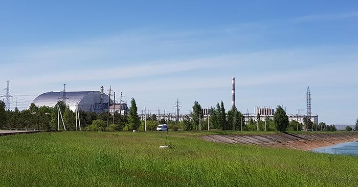 NEW Chernobyl Power plant