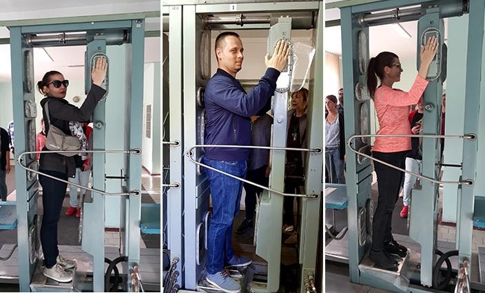 Radiation control Pripyat